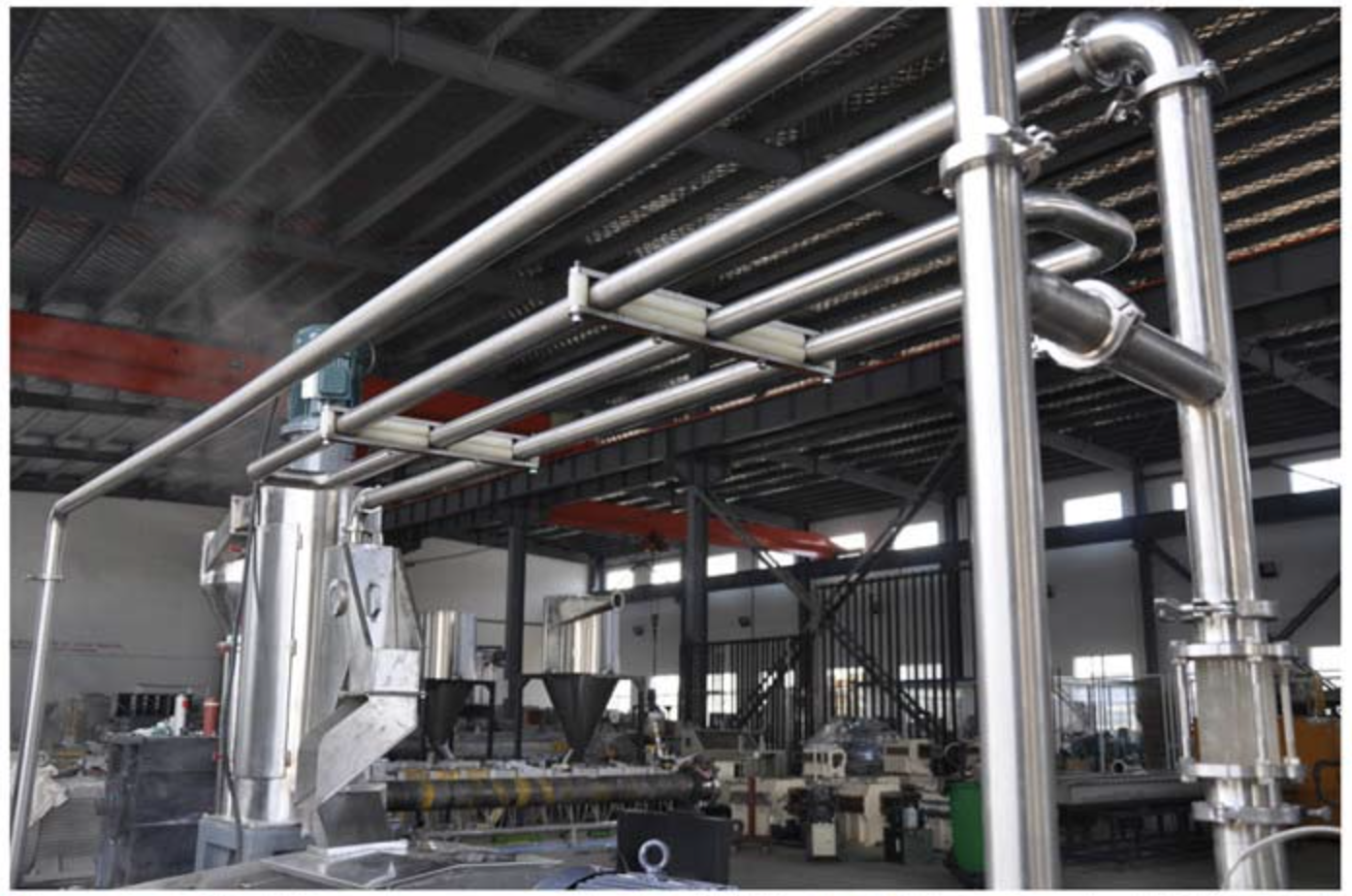 Thermoplastic Elastomers Extruder